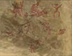Petroglyphen: Schamanische Symbole
