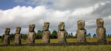 Mohai aus dem Pazifik als Symbol für Aufstellungsarbeit