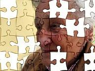 Puzzle: Der Mensch und seine Teile.