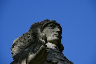 Statue eines Native