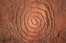 Petroglyphe Spirale