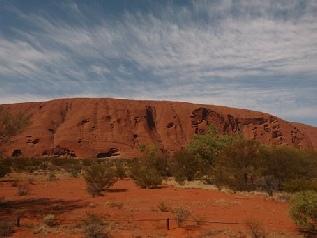 Uluru - Heiliger Berg der Aborigines