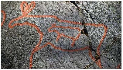 Petroglyphe Schwangerschaft
