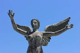 Nackter Engel